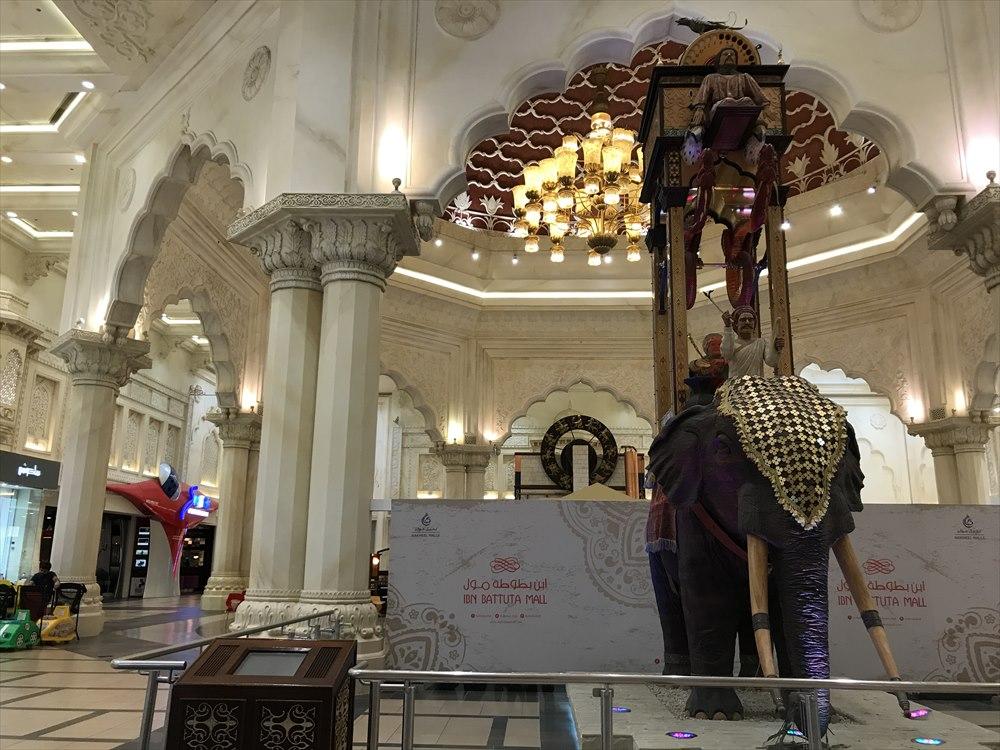 イブン・バトゥータ・モールのインドコートのホール2