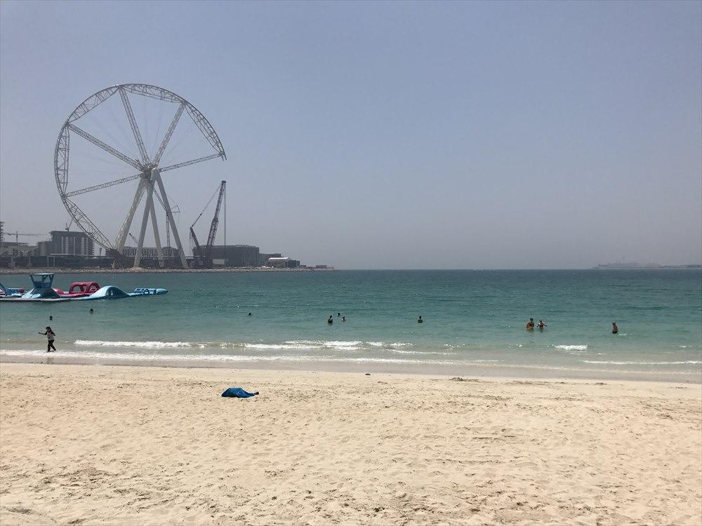 ドバイのJBRビーチ1
