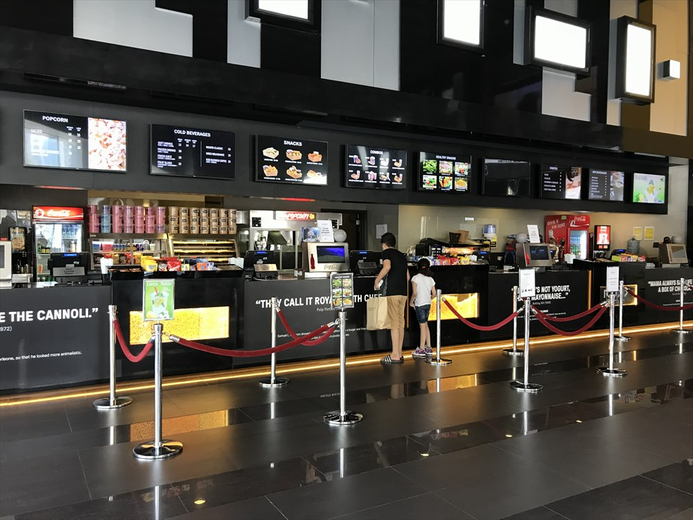 ドバイの映画館