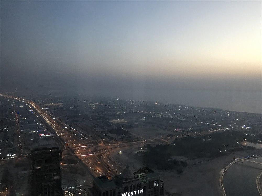 ドバイの夜景1