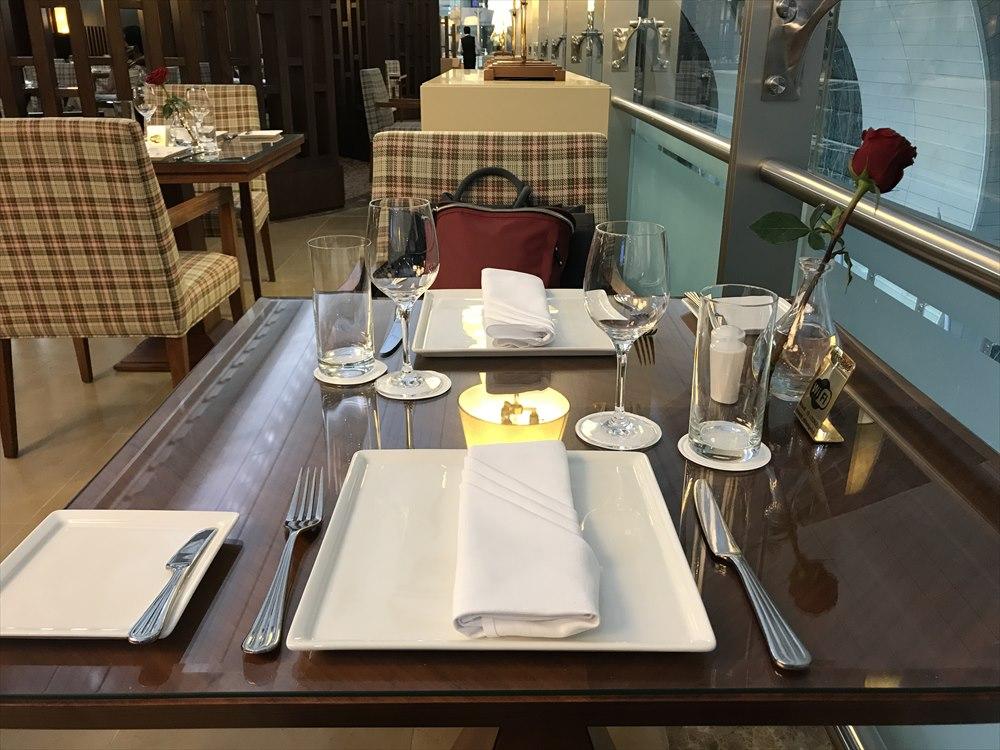 Fine Diningのテーブル