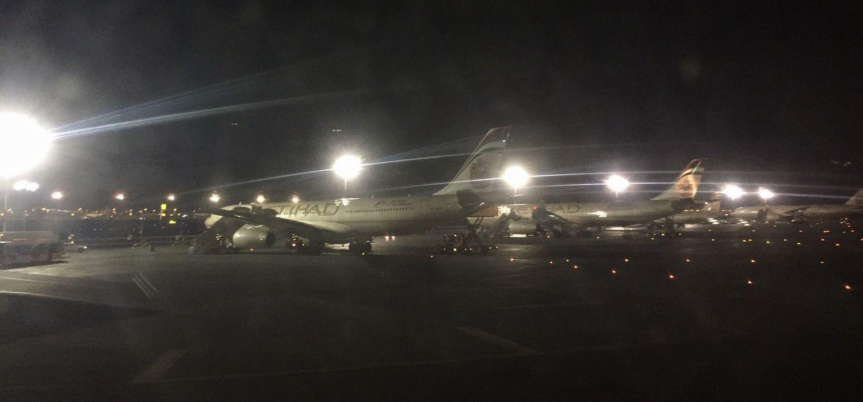 EY878から空港
