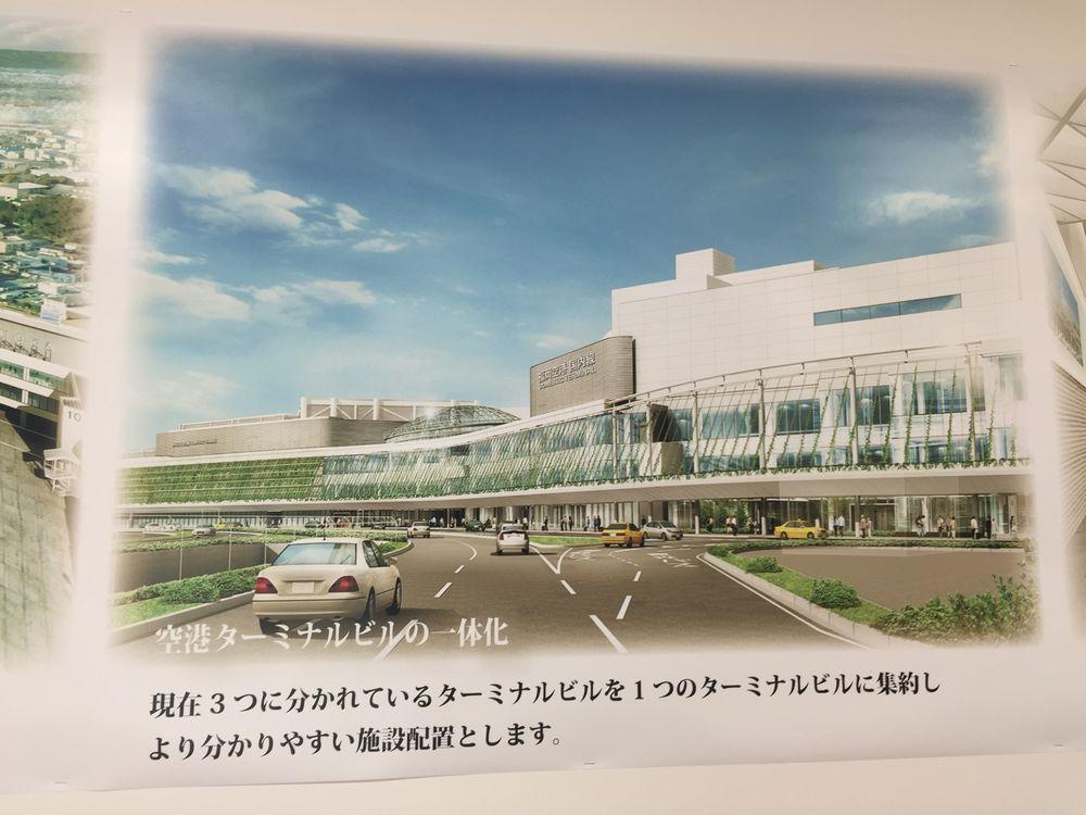 福岡空港リニューアル後イメージ図