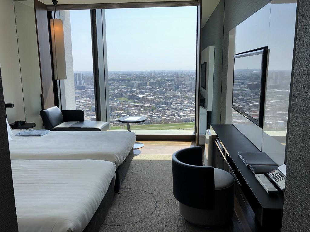 二子玉川エクセルホテル東急のスーペリア リバービュールーム1
