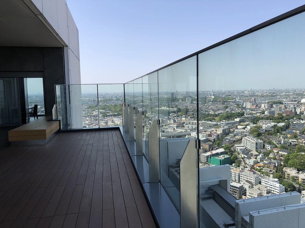 二子玉川エクセルホテル東急のテラスからの眺め3