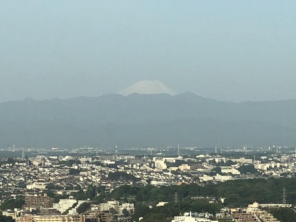二子玉川エクセルホテル東急から富士山2