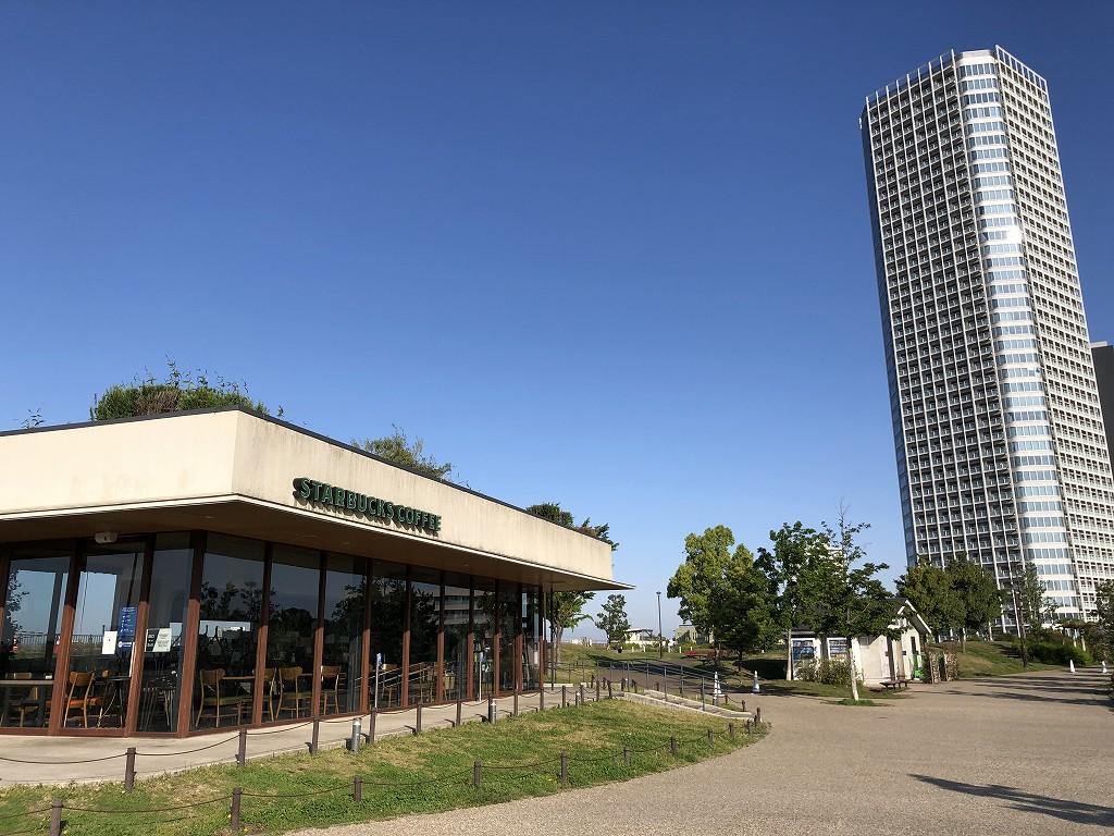 二子玉川公園のスターバックスコーヒー