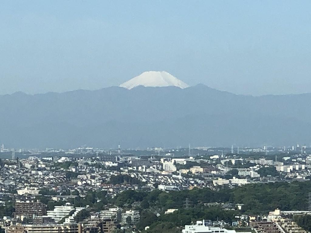 二子玉川エクセルホテル東急からの富士山4