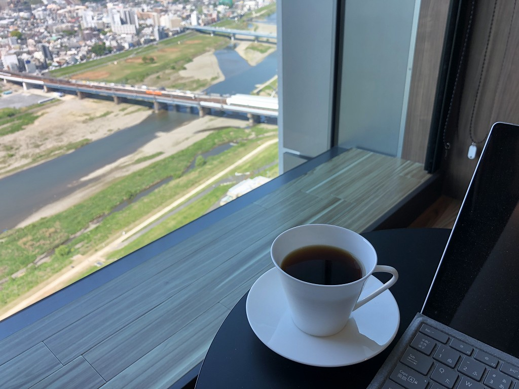 二子玉川エクセルホテル東急のドリップコーヒー