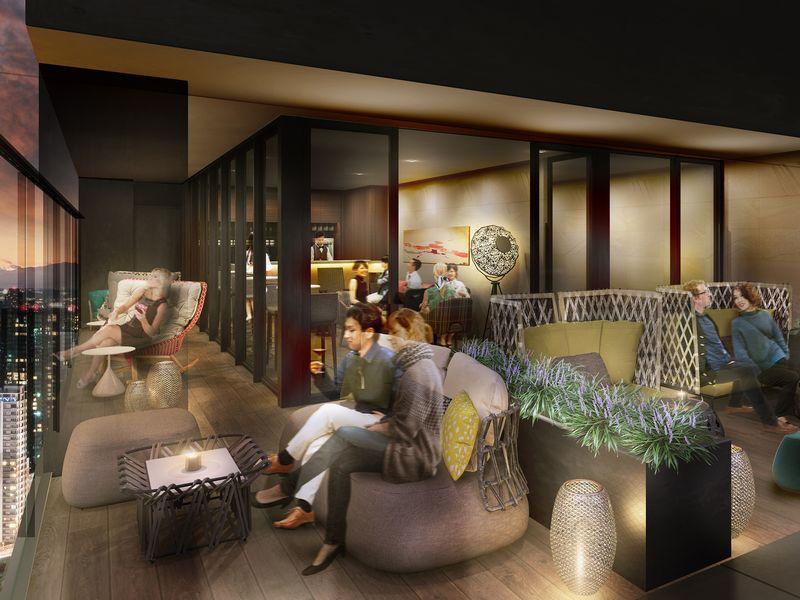 ザ・ゲートホテル東京「Premium Lounge」