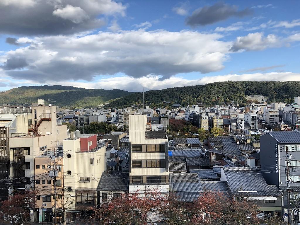 THE GATE HOTEL 京都高瀬川 by HULICのクラッシーからの眺め1