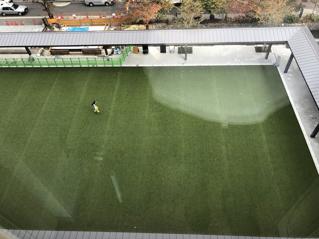 THE GATE HOTEL 京都高瀬川 by HULICの芝生