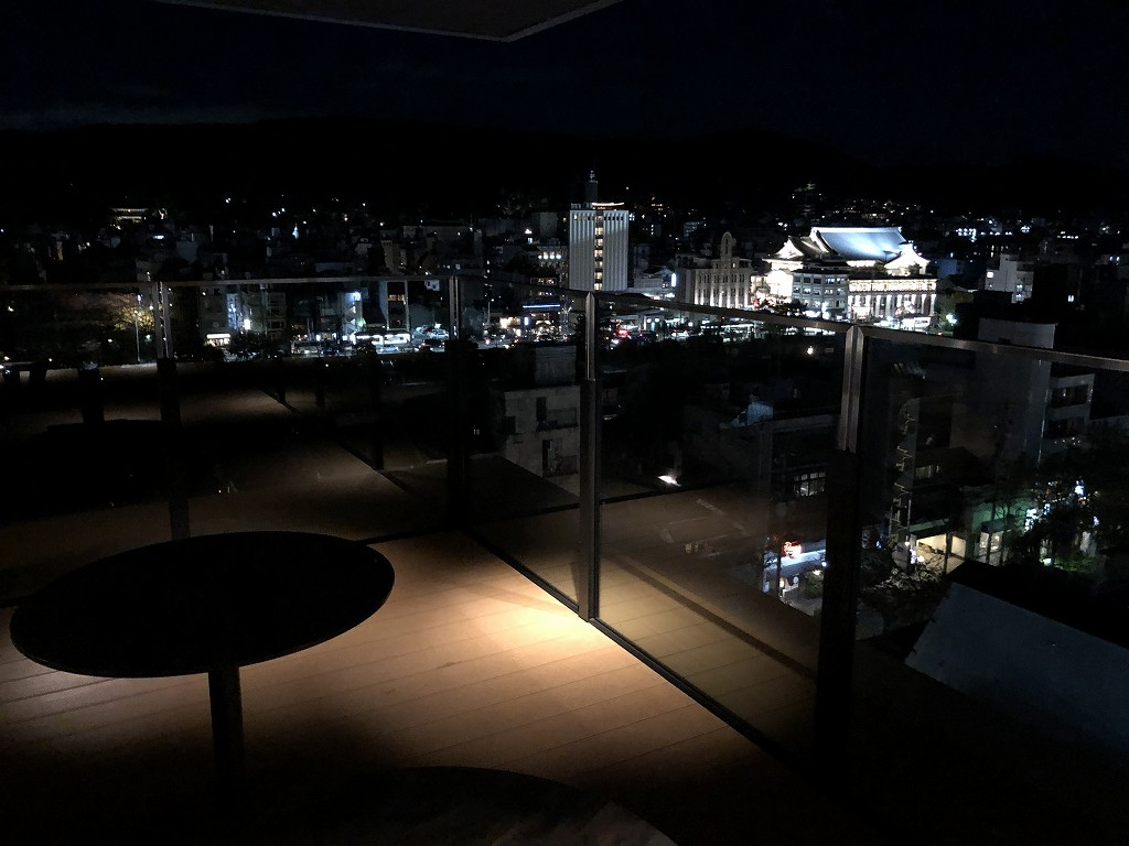 THE GATE HOTEL 京都高瀬川 by HULICの「ANCHOR KYOTO」からの眺め3