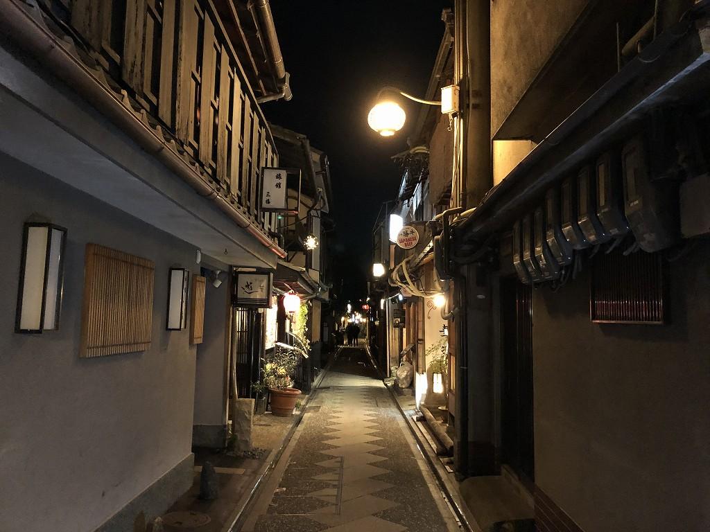 木屋町と先斗町を探索1