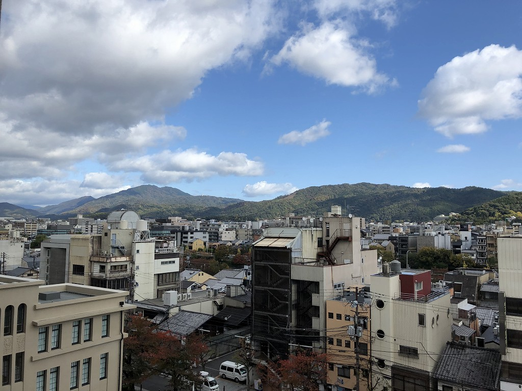 THE GATE HOTEL 京都高瀬川 by HULICから比叡山
