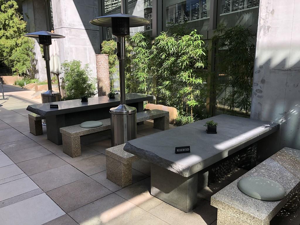 グランドハイアット東京の「六緑」のテラス席は予約済み