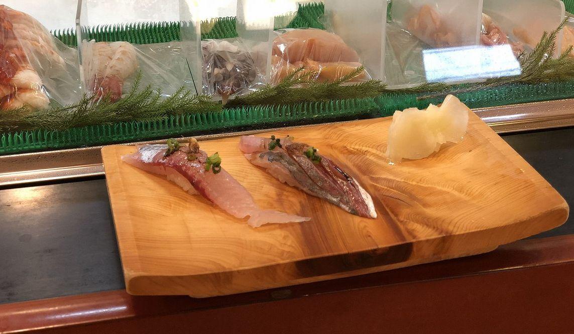 八丈島の銀八の江戸前寿司