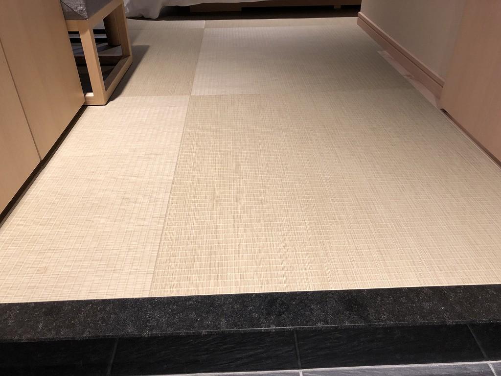 由縁 新宿のセミダブルルームの畳