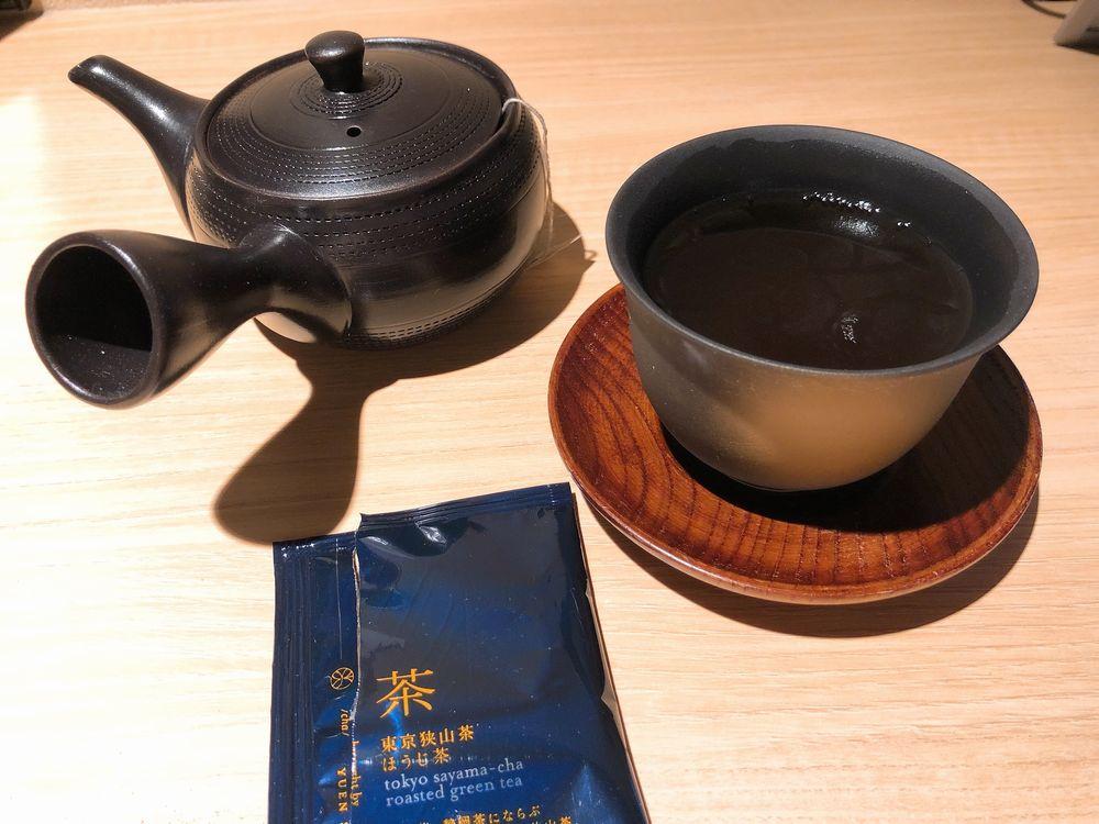 由縁 新宿のほうじ茶