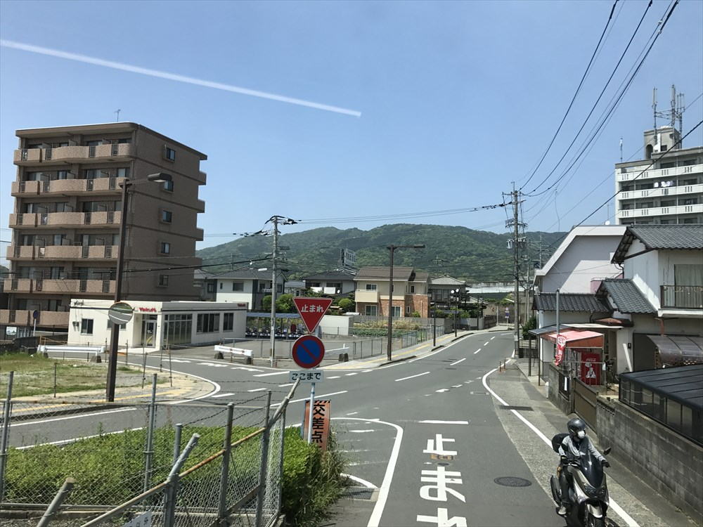 太宰府近くの山
