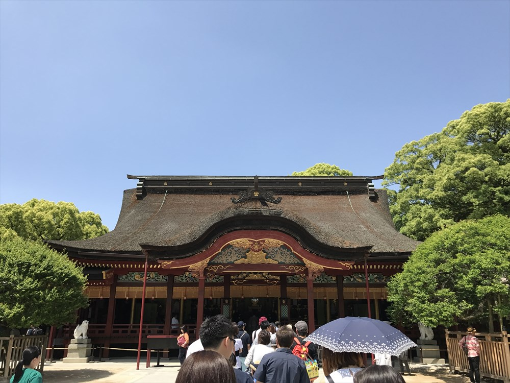 太宰府天満宮の楼門