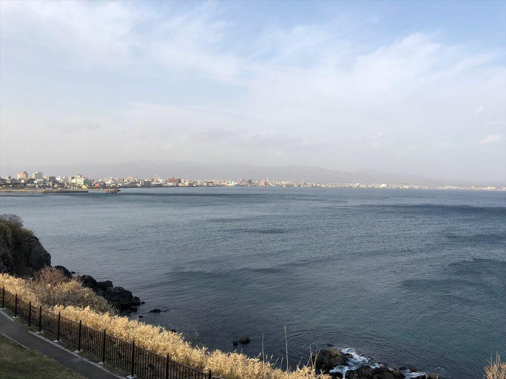 立待岬から函館市街1