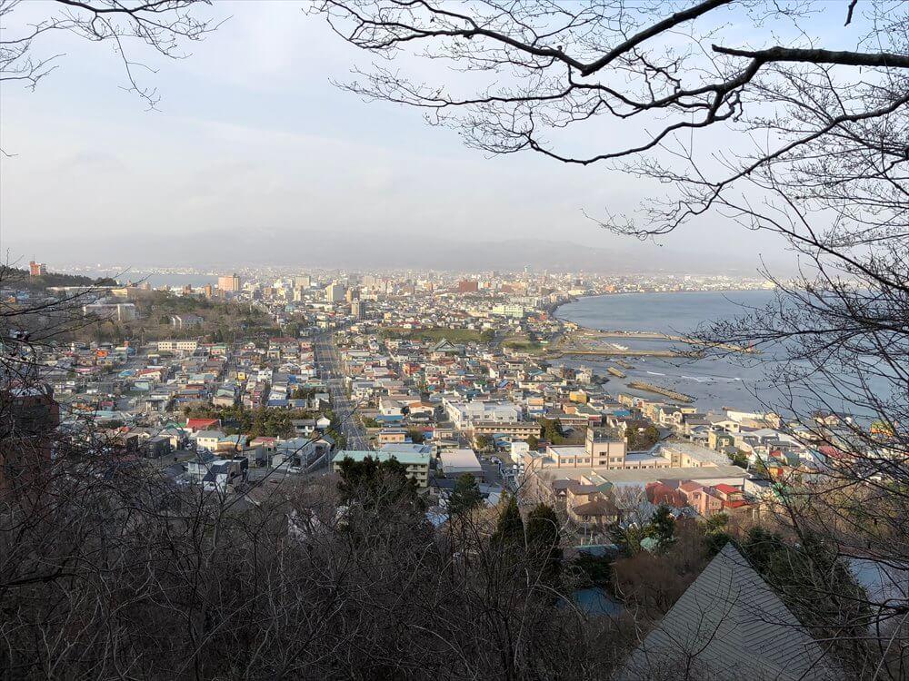 立待岬から函館市街地2