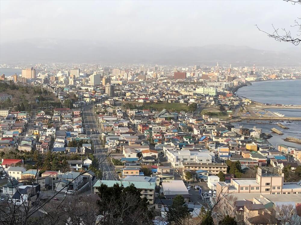 立待岬から函館市街地3