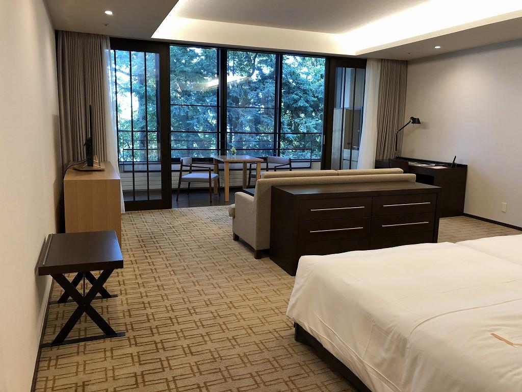 ハイアットリージェンシー箱根リゾート&スパのデラックスツインルーム1