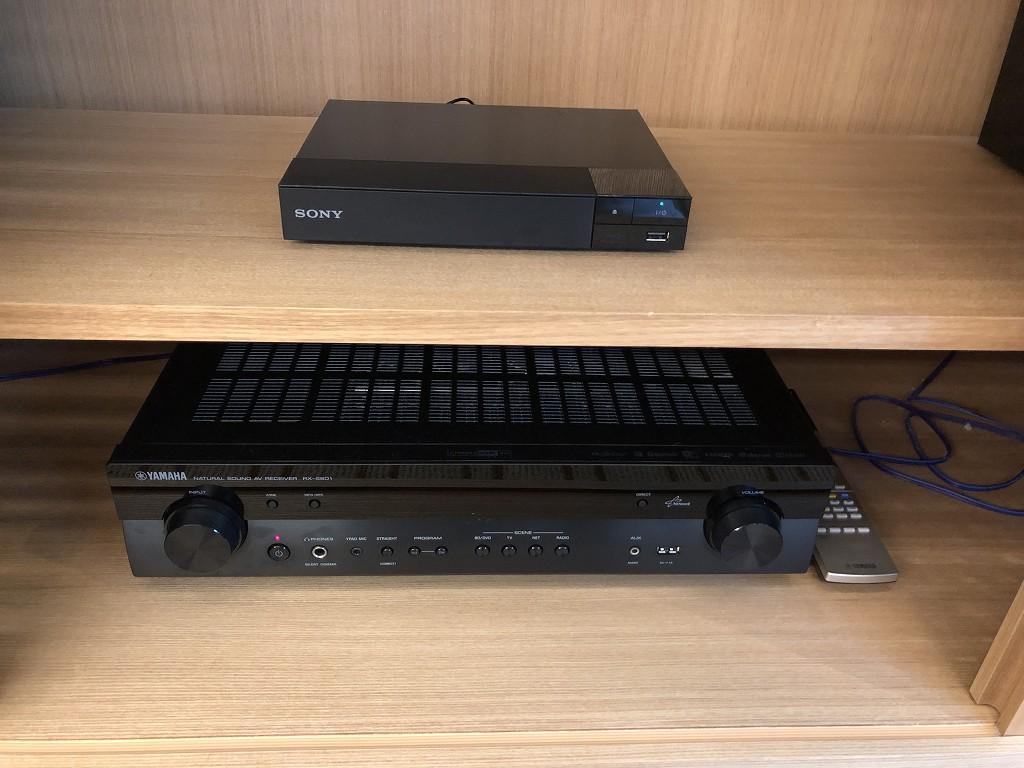 ハイアットリージェンシー箱根リゾート&スパのデラックスツインルームのオーディオ機器