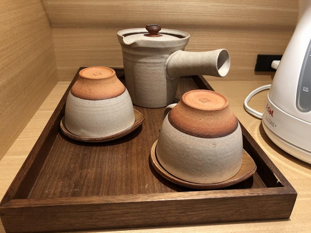 ハイアットリージェンシー箱根リゾート&スパのデラックスツインルームの湯呑
