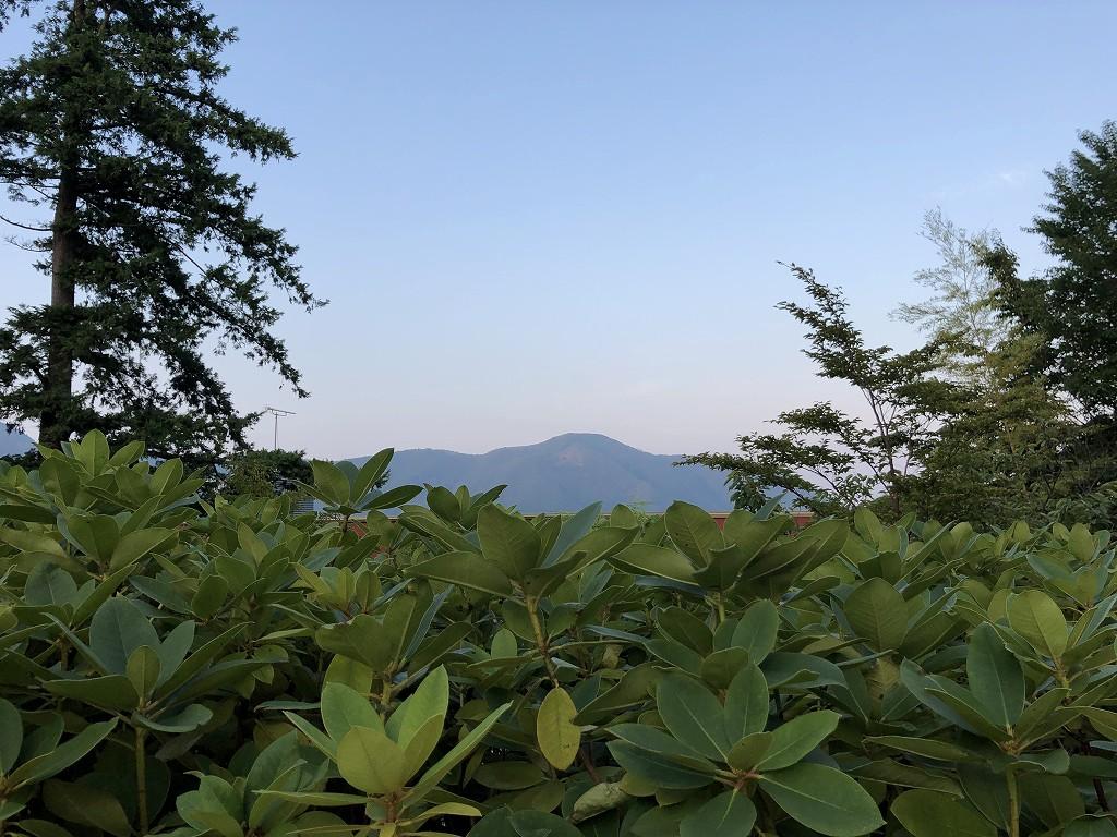 ハイアットリージェンシー箱根リゾート&スパから大文字焼き1