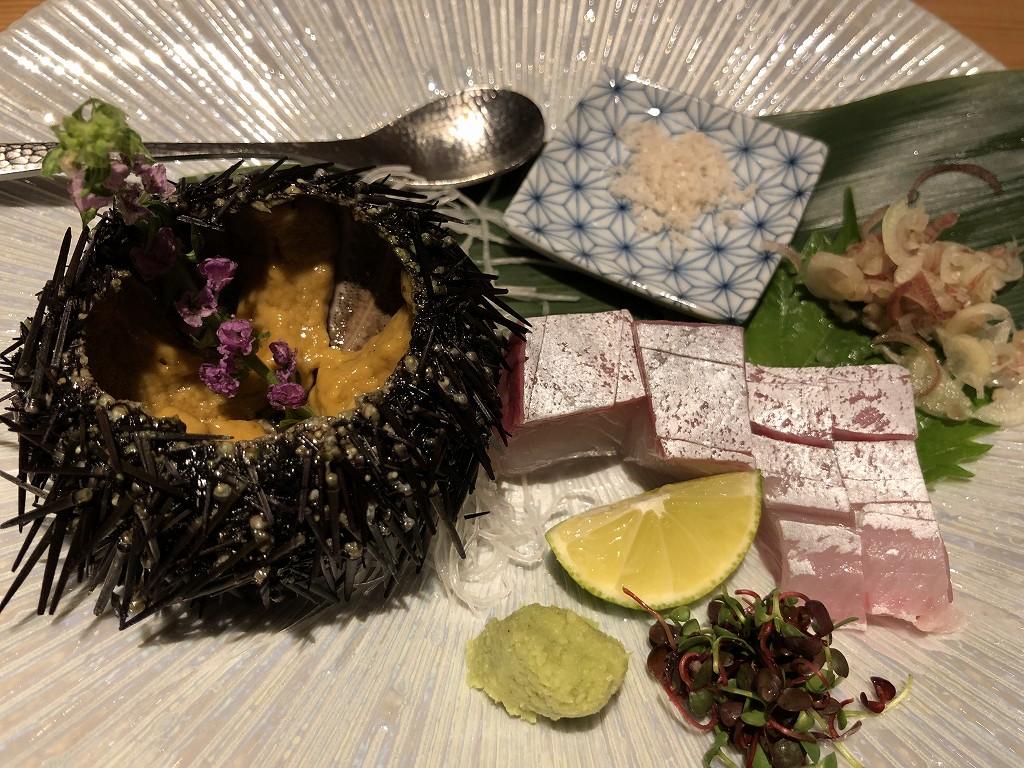 ハイアットリージェンシー箱根リゾート&スパのダイニングルーム鮨2