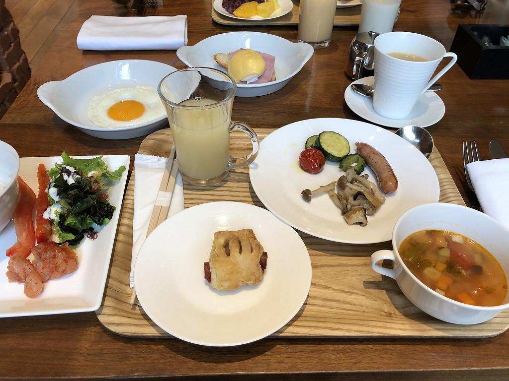 ハイアットリージェンシー箱根リゾート&スパのダイニングルームの朝食2