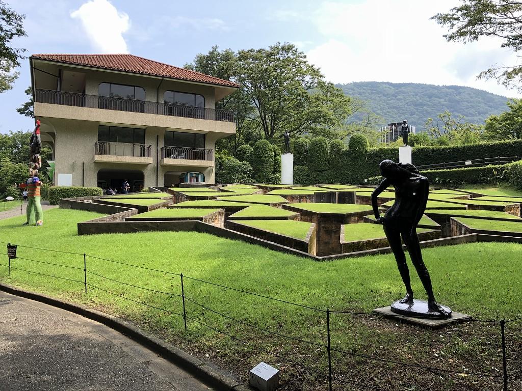 箱根彫刻の森美術館の休憩所