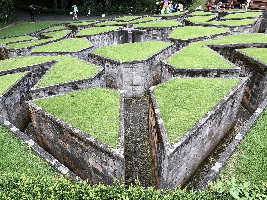 箱根彫刻の森美術館の「星の庭」