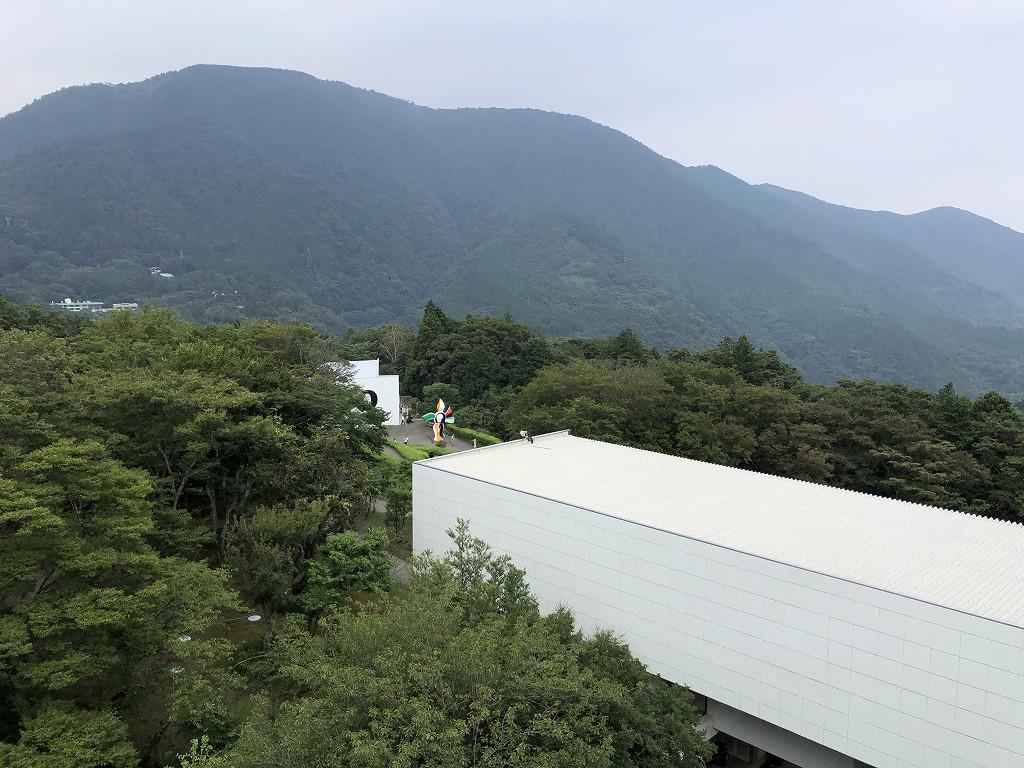 箱根彫刻の森美術館の塔からの眺め2