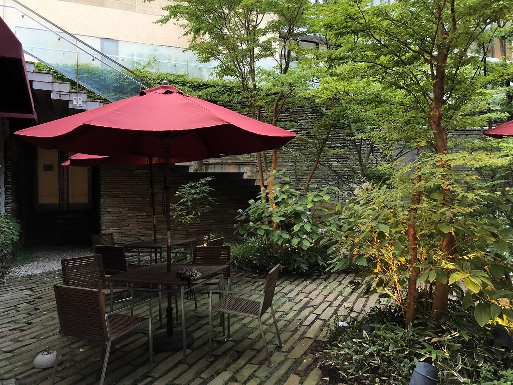 ハイアットリージェンシー箱根リゾート&スパの中庭