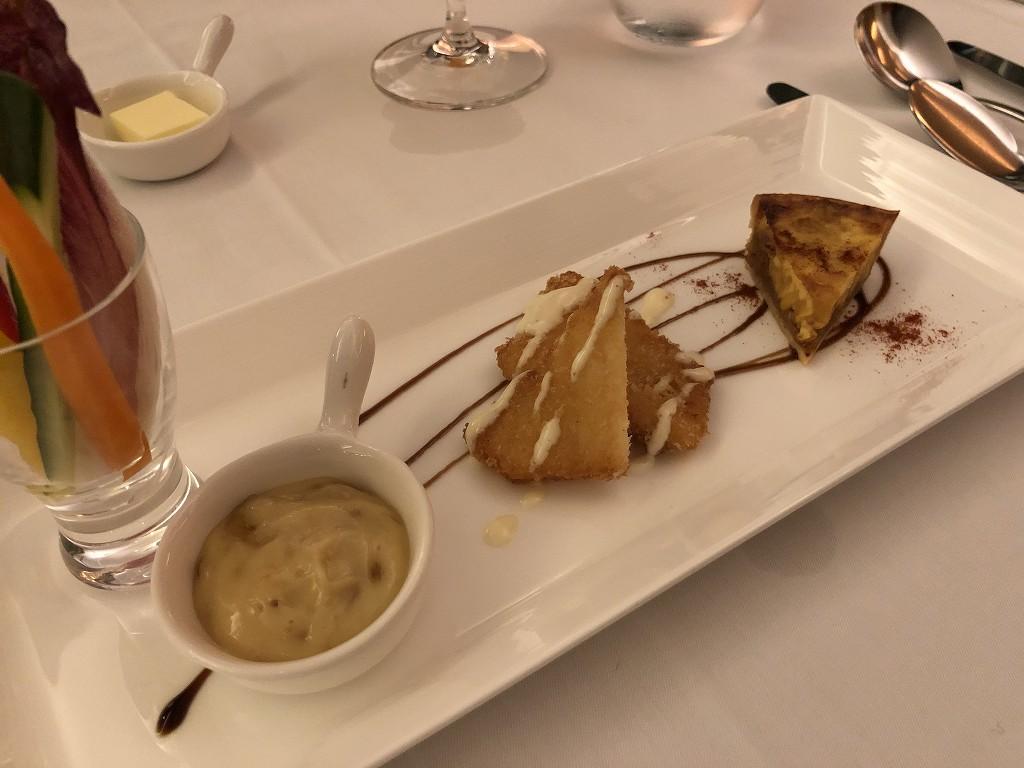ハイアットリージェンシー箱根リゾート&スパのDINING ROOMの前菜