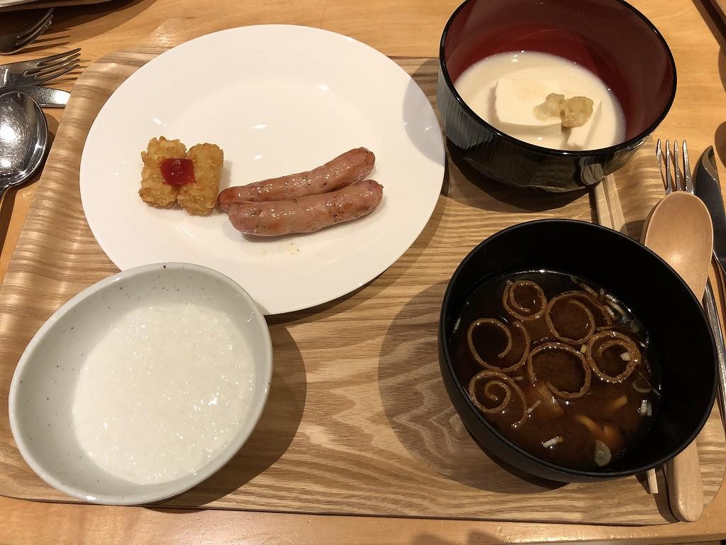 ハイアットリージェンシー箱根リゾート&スパのドローイングルームで朝食(2日目)