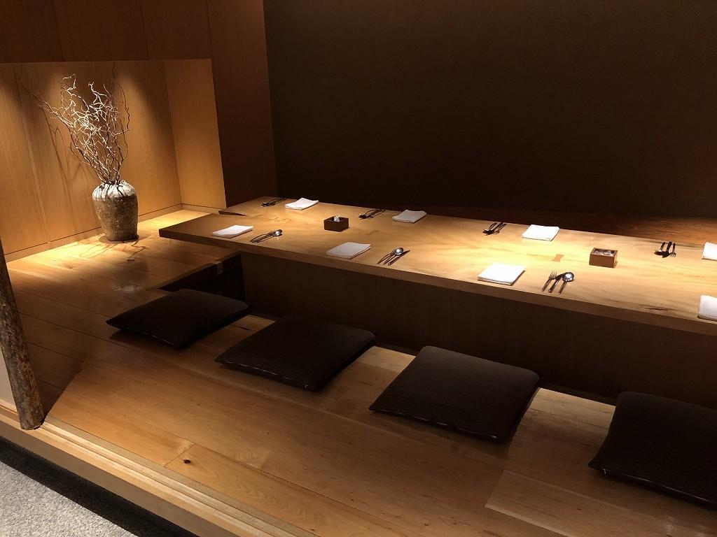 ハイアットリージェンシー箱根リゾート&スパのドローイングルームで朝食会場(和食)3