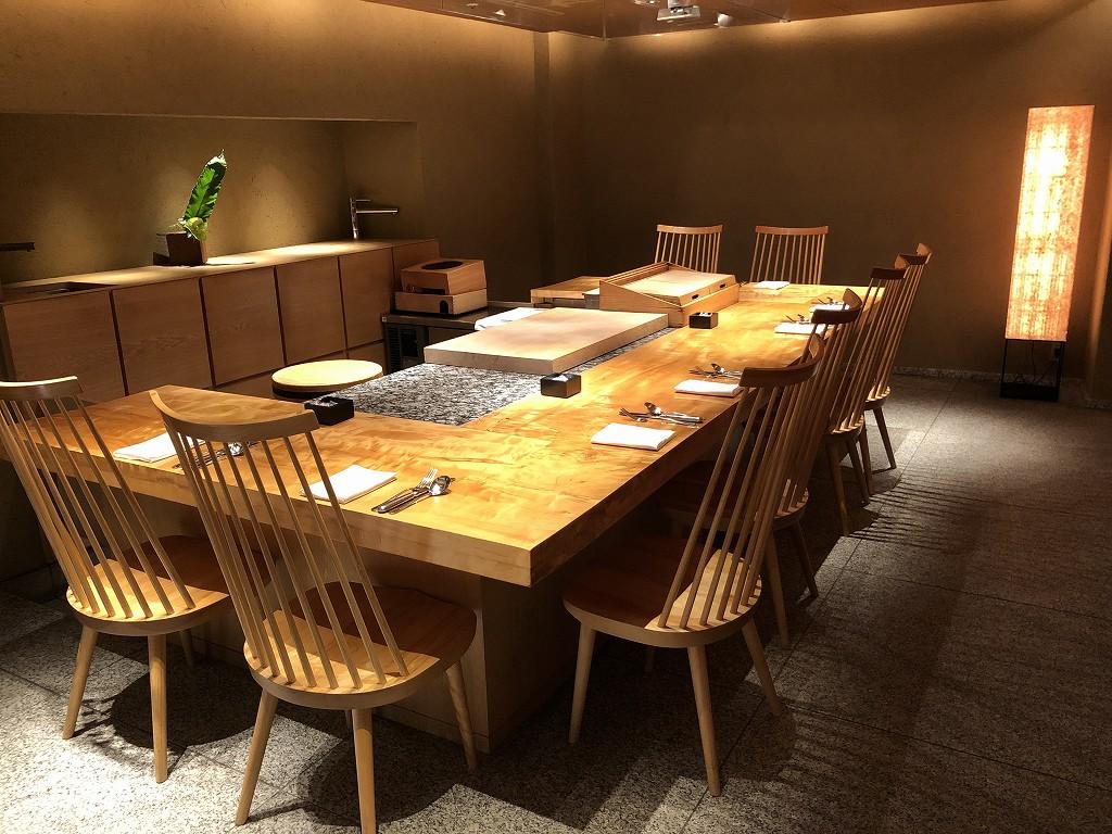 ハイアットリージェンシー箱根リゾート&スパのドローイングルームで朝食会場(和食)2
