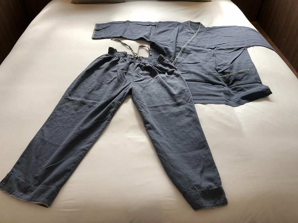 HAMACHO HOTEL TOKYOのパジャマ