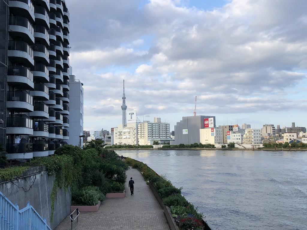 隅田川沿いに北上1