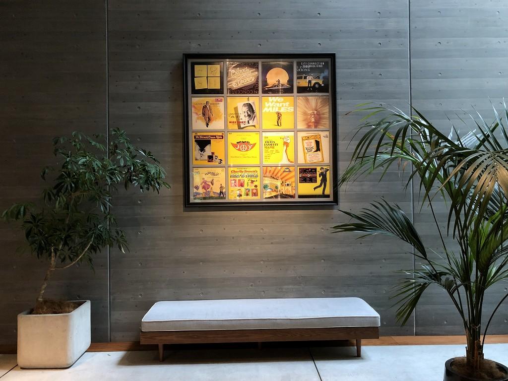 HAMACHO HOTEL TOKYOの屋内の植栽2