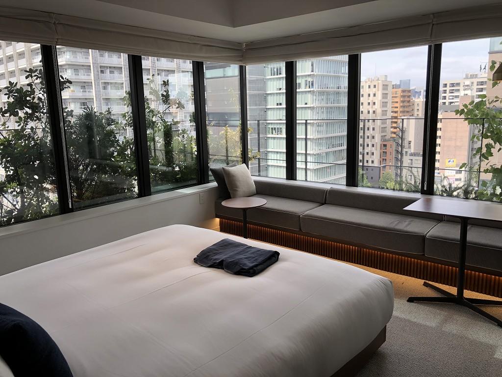 HAMACHO HOTEL TOKYOのコーナーダブルルームの内観5