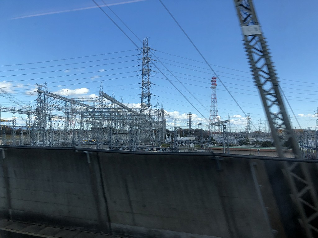 宇都宮の変電所