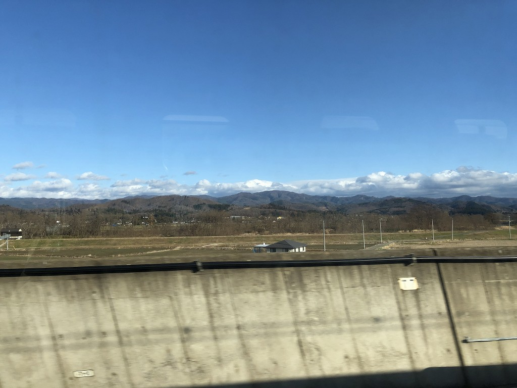 紫波町から早池峰山