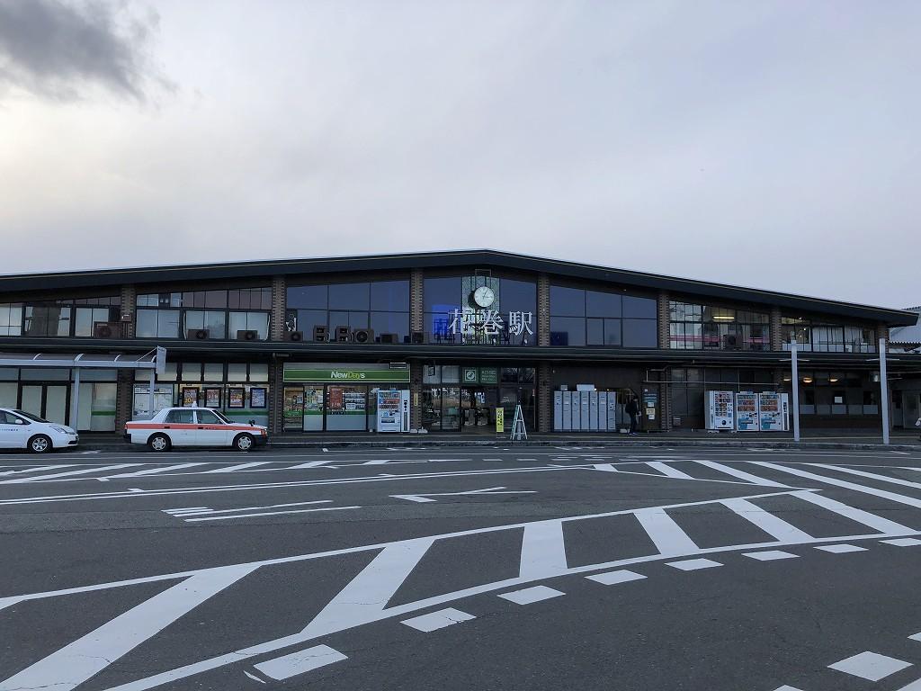 花巻駅舎1