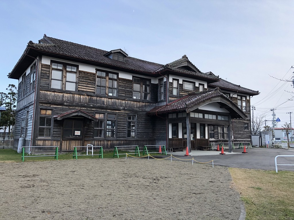 花巻の材木町公園の市民の家1